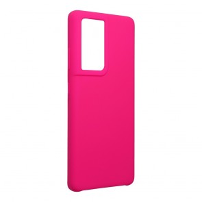 Forcell Silicone Case for SAMSUNG Galaxy S21 Ultra hot pink