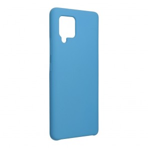 Forcell Silicone Case for SAMSUNG Galaxy A42 5G dark blue