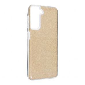 Forcell SHINING Case for SAMSUNG Galaxy S21 gold