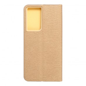 Forcell LUNA Book Gold for SAMSUNG Galaxy S21 Ultra gold