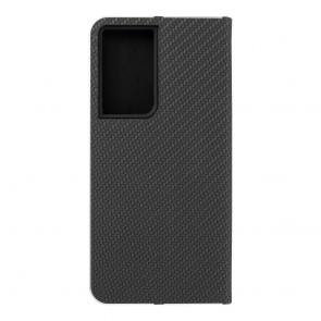 Forcell LUNA Book Carbon for SAMSUNG Galaxy S21 Ultra black