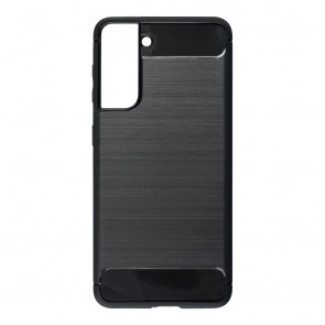 Forcell CARBON Case for SAMSUNG Galaxy S21 black