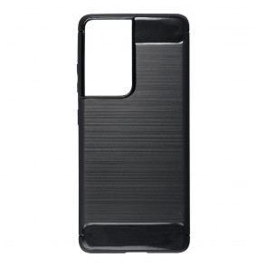 Forcell CARBON Case for SAMSUNG Galaxy S21 Ultra black