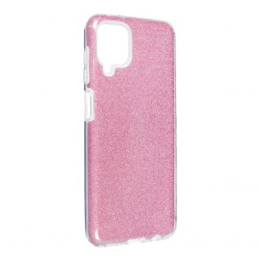 Forcell SHINING Case for SAMSUNG Galaxy A12 pink