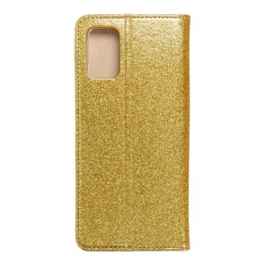 Forcell SHINING Book for  SAMSUNG A02s gold