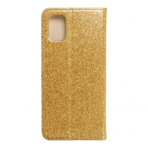 Forcell SHINING Book for  SAMSUNG M51 gold