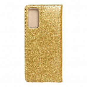 Forcell SHINING Book for  SAMSUNG S20 FE / S20 FE 5G gold