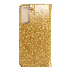 Forcell SHINING Book for  SAMSUNG S21 Plus gold