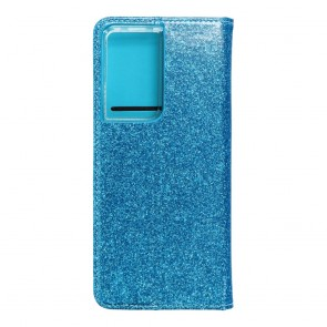 Forcell SHINING Book for SAMSUNG  S21 Ultra light blue