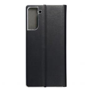 Luna Book Silver for  SAMSUNG S21 Plus black