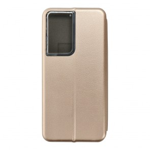 Book Forcell Elegance for  SAMSUNG S21 ULTRA gold