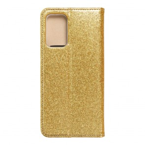 Forcell SHINING Book for  SAMSUNG A72 LTE ( 4G ) gold