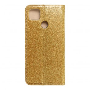 Forcell SHINING Book for  Xiaomi Redmi 9C / 9C NFC gold