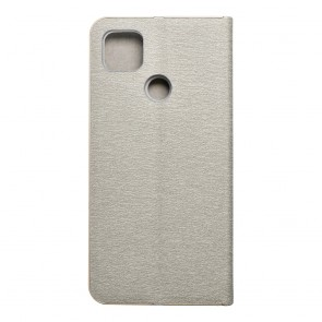 Forcell LUNA Book Gold for Xiaomi Redmi 9C / 9C NFC silver