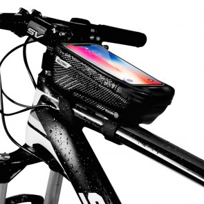 """Bicycle holder / front beam bag touch screen with zipper WILDMAN E2 1L 4 """"- 7"""""""