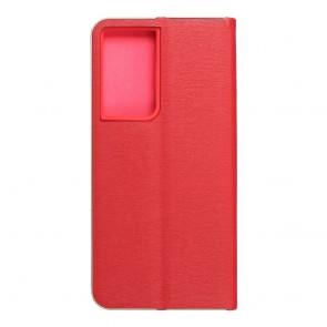 Forcell LUNA Book Gold for SAMSUNG Galaxy S21 Ultra red