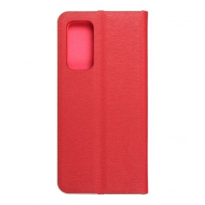Forcell LUNA Book Gold for XIAOMI Mi 10T Pro 5G / Mi 10T 5G red