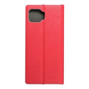 Luna Book Silver for  MOTOROLA Motorola G 5G Plus red