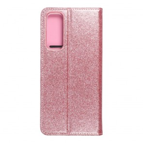 Forcell SHINING Book for  HUAWEI P SMART 2021 rose gold