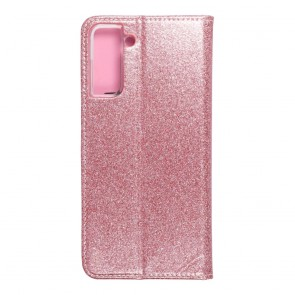 Forcell SHINING Book for  SAMSUNG S21 Plus rose gold