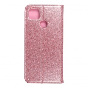 Forcell SHINING Book for  XIAOMI Redmi 9C / 9C NFC rose gold