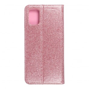Forcell SHINING Book for  SAMSUNG M51 rose gold