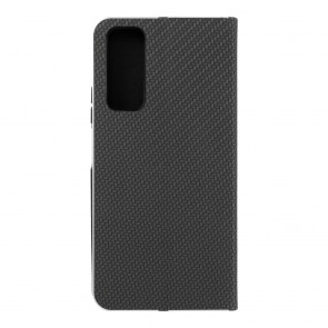 Forcell LUNA Book Carbon for HUAWEI P Smart 2021 black