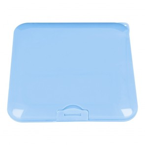 Protective box for masks 13x13cm - blue