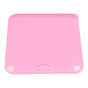 Protective box for masks 13x13cm - pink