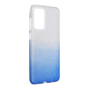 Forcell SHINING Case for SAMSUNG Galaxy A72 LTE ( 4G ) / A72 5G clear/blue