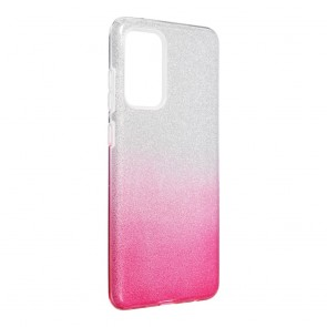 Forcell SHINING Case for SAMSUNG Galaxy A72 LTE ( 4G ) / A72 5G clear/pink