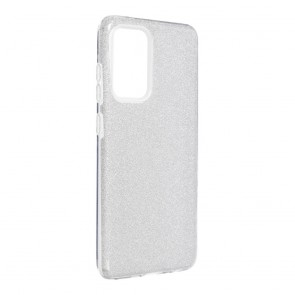 Forcell SHINING Case for SAMSUNG Galaxy A52 5G / A52 LTE ( 4G ) clear/pink