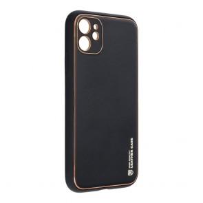 """Forcell LEATHER Case for IPHONE 11 ( 6,1"""" ) black"""