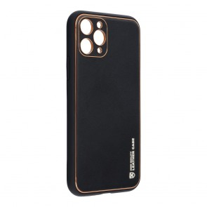 """Forcell LEATHER Case for IPHONE 11 PRO ( 5,8"""" ) black"""