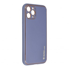 """Forcell LEATHER Case for IPHONE 11 PRO ( 5,8"""" ) blue"""