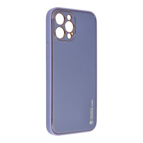 Forcell LEATHER Case for IPHONE 12 PRO MAX blue