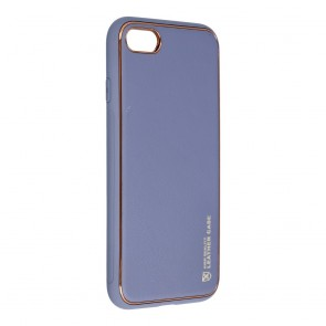 Forcell LEATHER Case for IPHONE 7 / 8 / SE 2020 blue