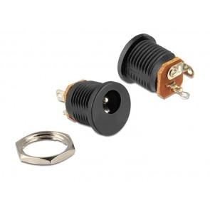 DELOCK Installation socket DC 2.5 x 5.5mm