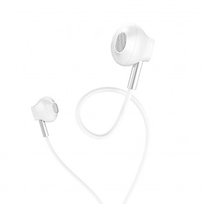 HOCO earphones with microphone M57 Sky white