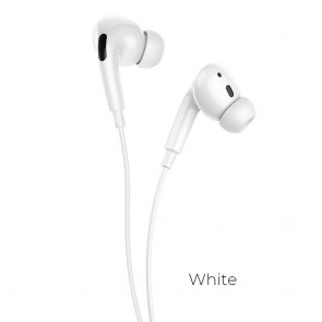HOCO M1 Pro Original series earphones jack 3,5mm with mic white