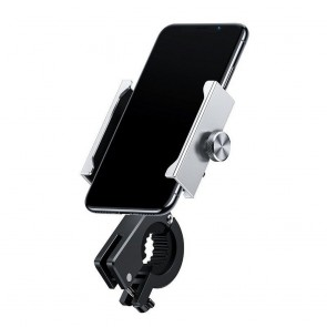 BASEUS bike / motorcycle holder for mobile KNIGHT silver CRJBZ-0S