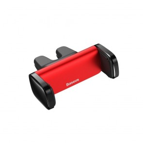 BASEUS car holder to air vent with double handle Steel Cannon red SUGP-09