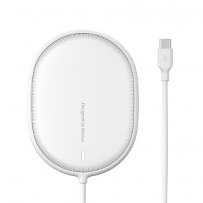 BASEUS wireless charger Light Magnetic 15W for MagSafe Iphone 12 white WXQJ-02