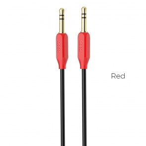 HOCO cable audio AUX Jack 3,5mm UPA11 red