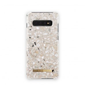 iDeal of Sweden for Samsung S10 Plus Greige Terazzo