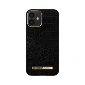 iDeal of Sweden Atelier for iPhone 12 MINI Nightfall Croco