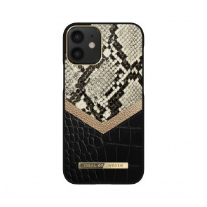 iDeal of Sweden case Atelier  for iPhone 12 MINI Midnight Python