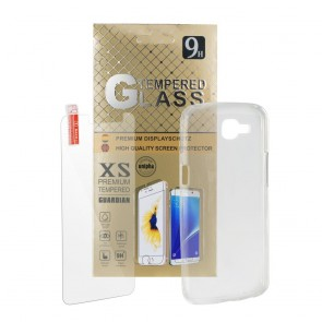 CASE for + Tempered Glass SET for SAMSUNG Galaxy A7 2018