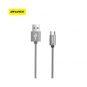 Cable AWEI CL960 Type-C gray