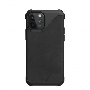 ( UAG ) Urban Armor Gear Metropolis LT (leather) for IPHONE 12 / 12 PRO black